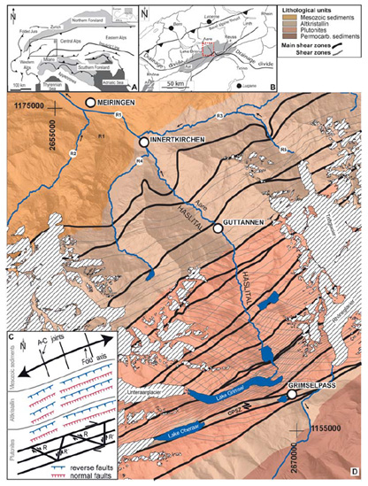 Regional geology of the Hasli Valley